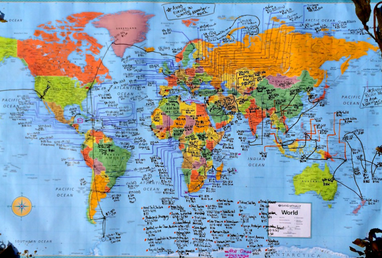 Fastest time to visit all sovereign nations 4